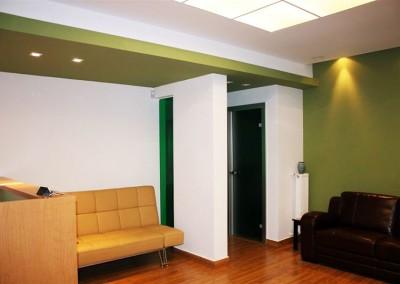 Ανακαίνιση χώρου υποδοχής ιατρείων στην Ηλιούπολη