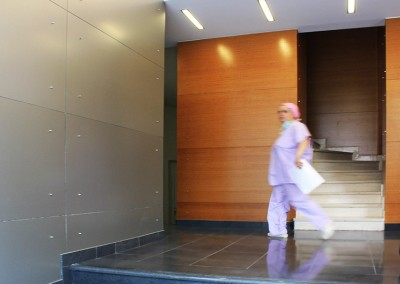 """Ανακαίνιση χώρου υποδοχής κλινικής """"ΑΓΙΑ ΕΙΡΗΝΗ""""  στο Αιγάλεω"""