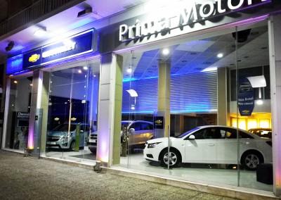 """Κατάστημα έκθεσης αυτοκινήτων """" CHEVROLET"""" στο Χαλάνδρι- 2011"""